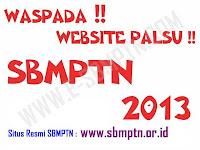 Situs Sbmptn Palsu