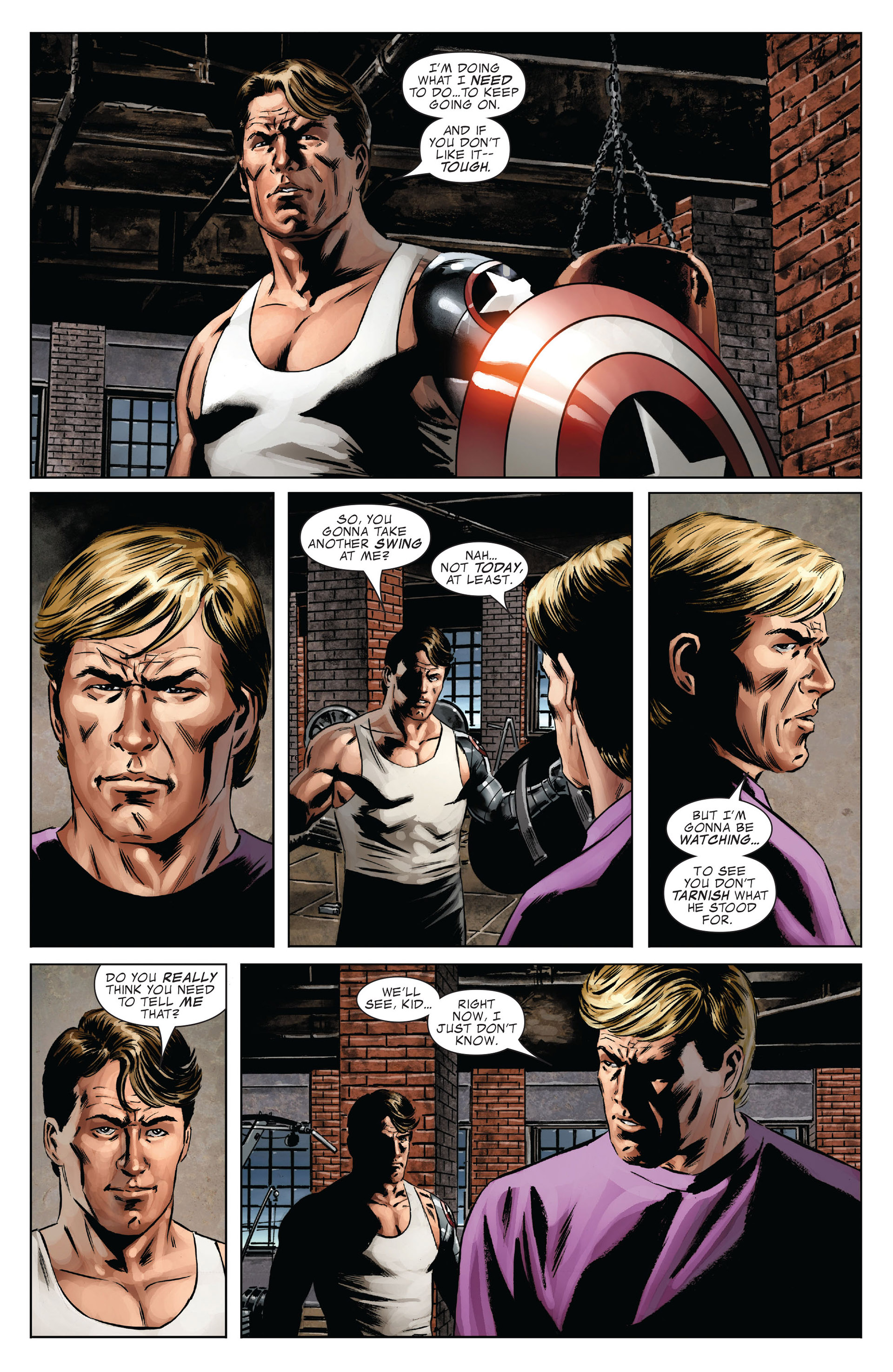 Captain America (2005) Issue #37 #37 - English 14