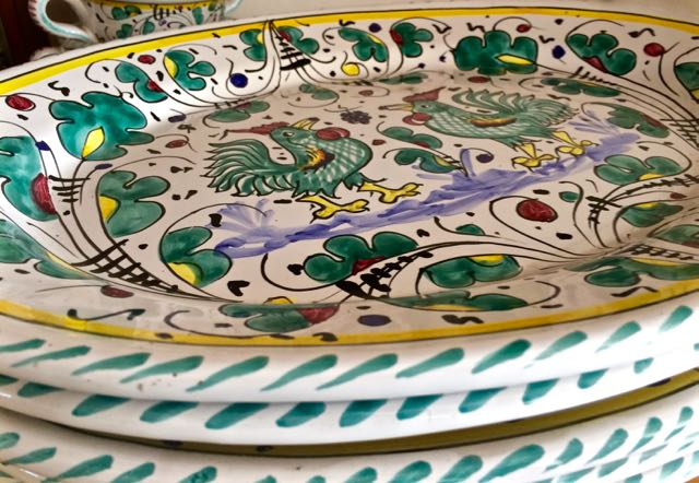 Gillian\'s Lists: Ceramiche Sberna in Deruta {Shopping in Italy}