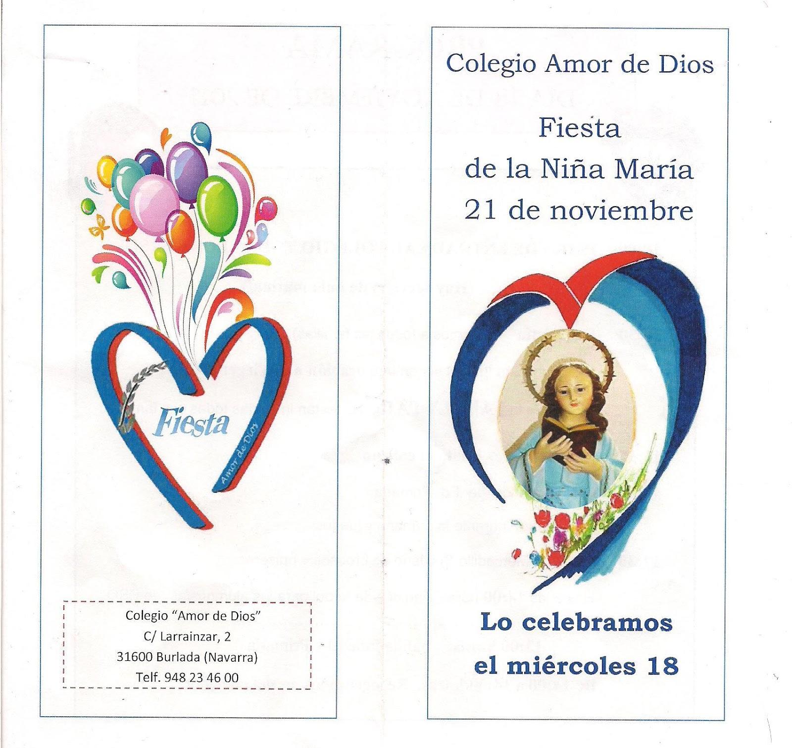 Colegio amor de dios burlada celebraci n ni a mar a - Colegio amor de dios oviedo ...
