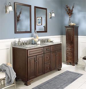 The ba os y muebles muebles de ba o cl sicos o tradicionales for Muebles bano clasicos