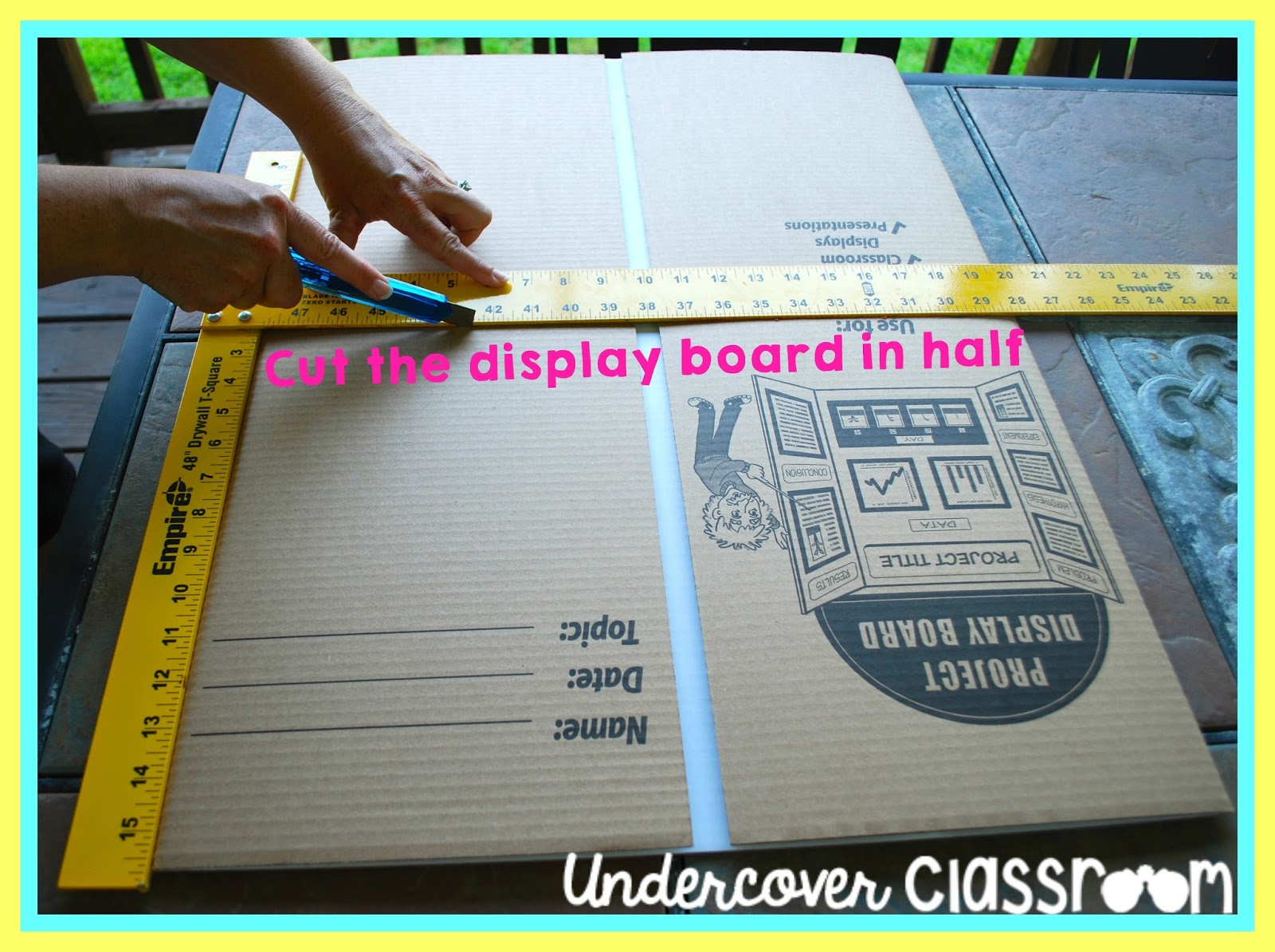 Undercover classroom do it yourself privacy folders solutioingenieria Choice Image