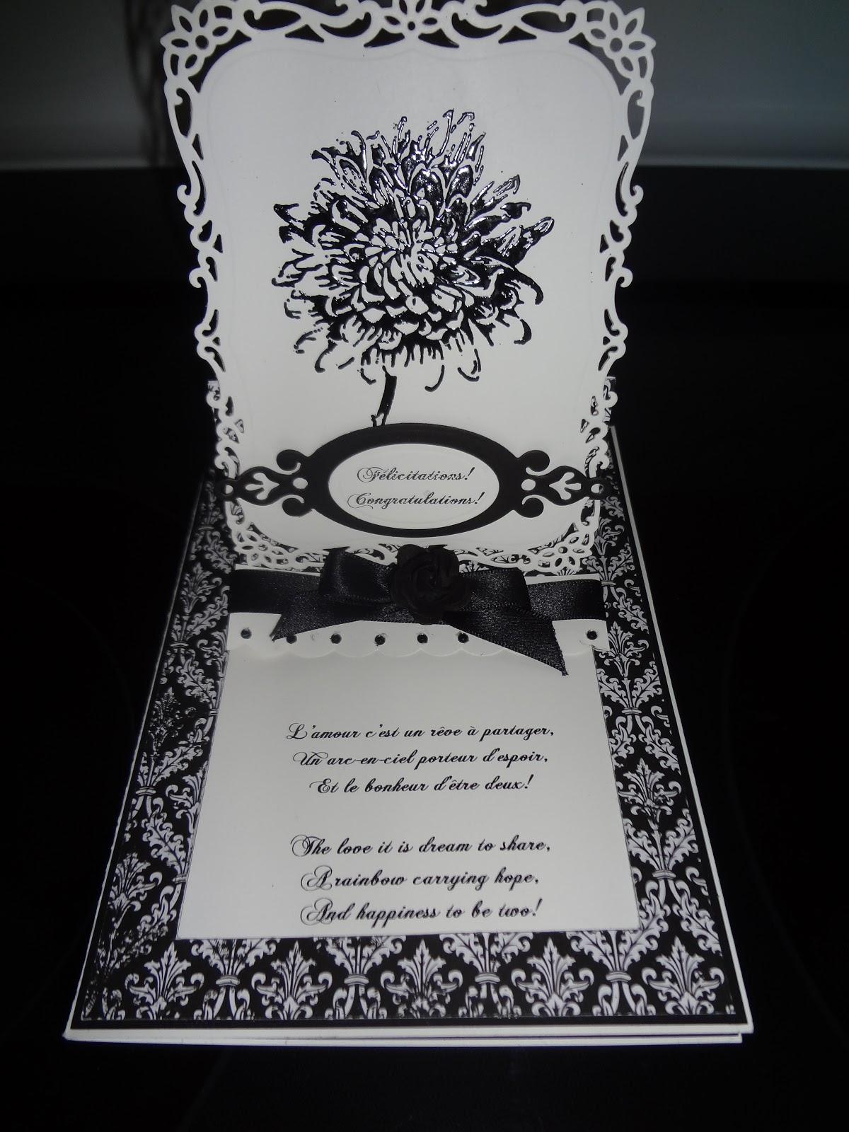 Passion Creations Felicitations Pour Le Mariage De