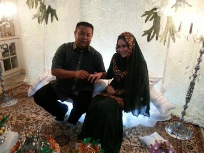 Anne Ngasri dan tunang, Mohd Sumali Reduan
