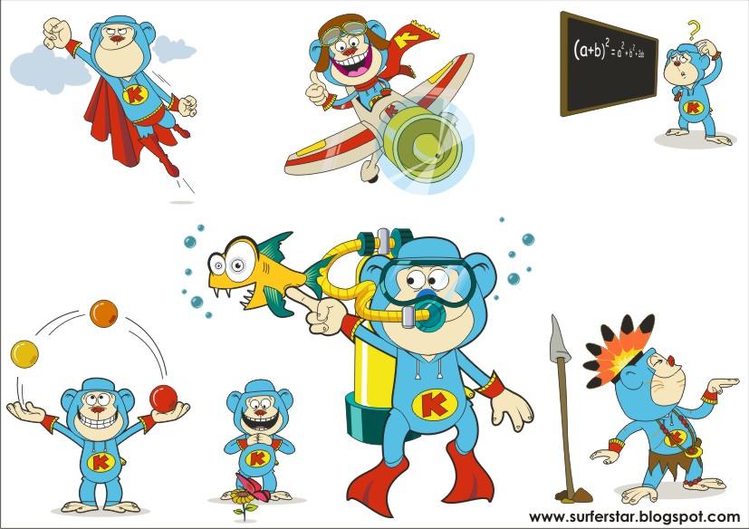 Nickelodeon Keymon Ache Cartoon