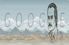 Carlos Fuentes: doodle de Google, 11 de noviembre