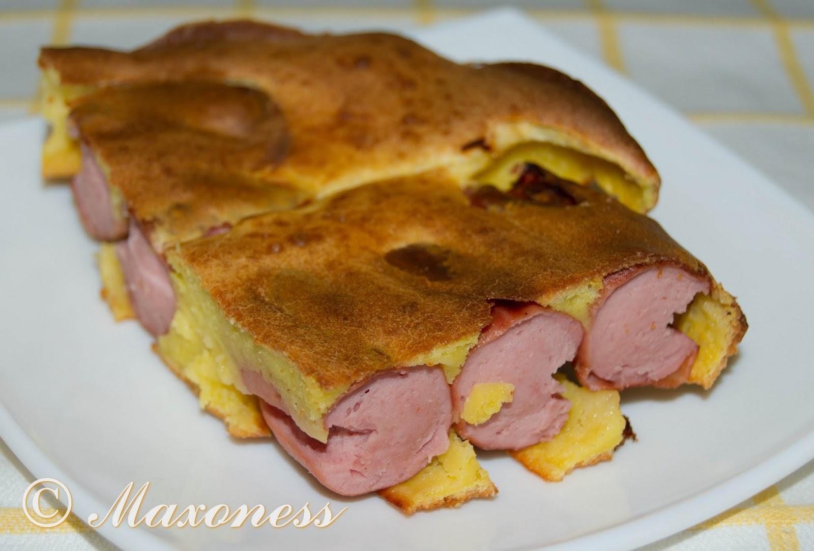 Сосиски, запеченные в тесте. Британская кухня