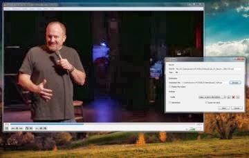 O VLC converte vídeos - 360x229