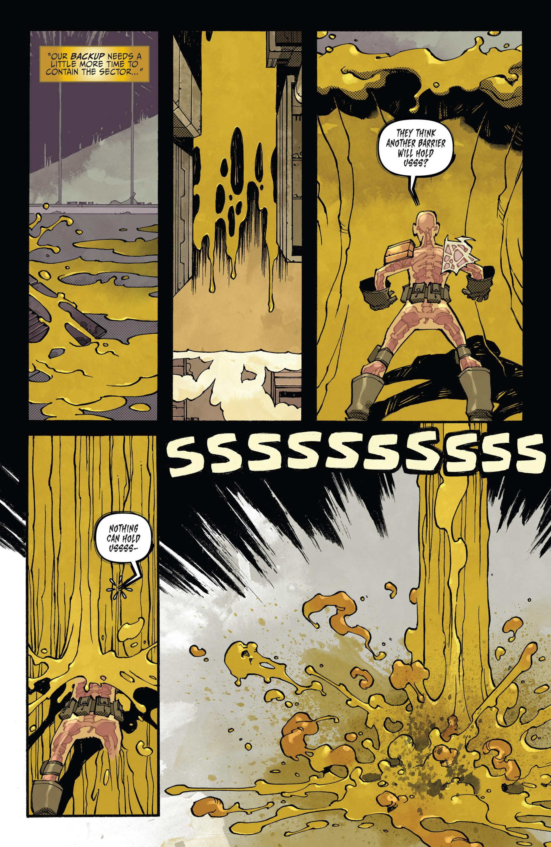 Read online Judge Dredd (2012) comic -  Issue #20 - 20