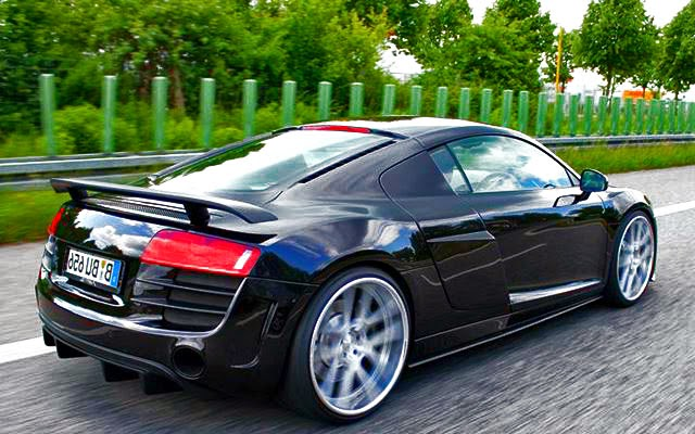 Audi R8 GT V12 Concept Bodykit rear