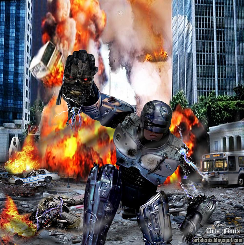 Robocop vs Exterminador do Futuro vão se reencontra novamente após
