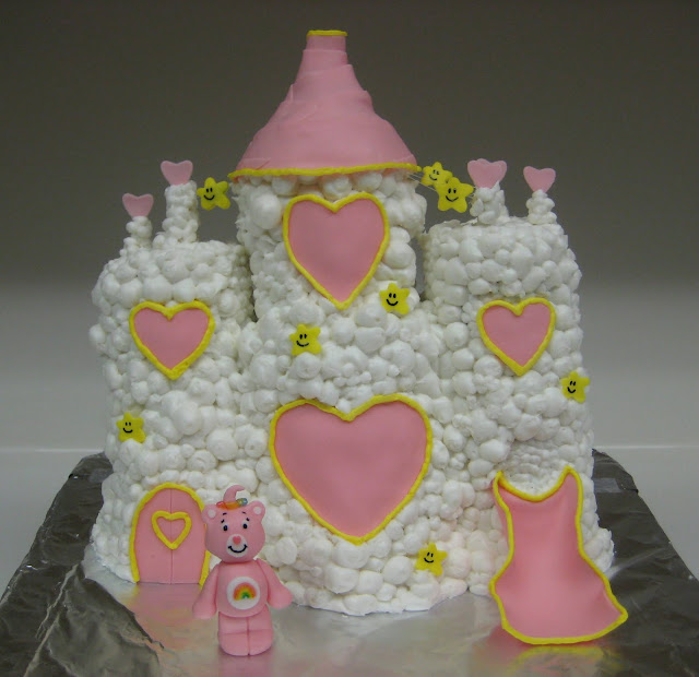 Care Bear Cloud Castle Cake 1