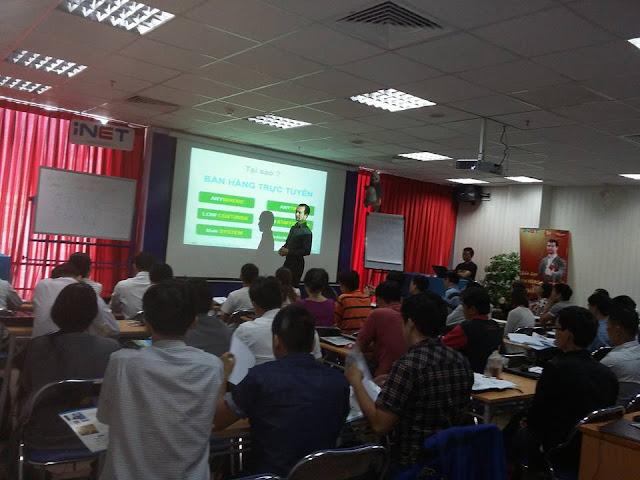Khoá học Bán hàng trực tuyến Tại Hồ Chí Minh 9/1/2016