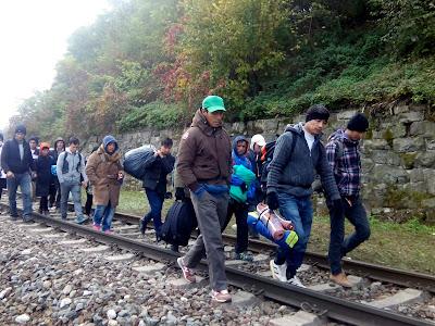 migráció, illegális bevmigráció, illegális bevándorlás, Ausztria, Spielfeld, illegális határátlépés, Szlovénia, ándorlás, Ausztria, Spielfeld, illegális határátlépés