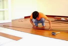 lắp sàn gỗ công nghiệp.