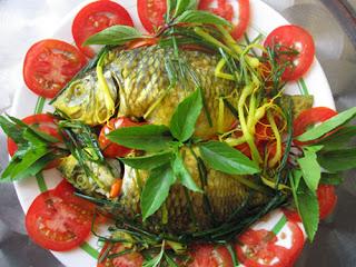 Cá Chép Kho Ngót