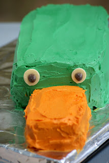 Perry Cake - Disney's Phineas and Ferb