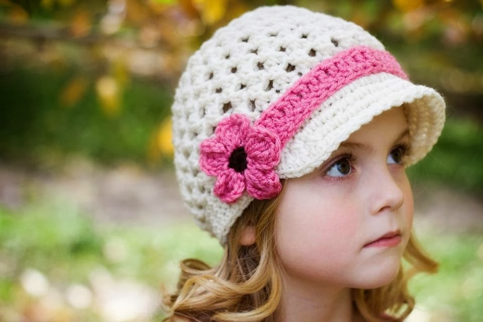 cuty baby girl with hat