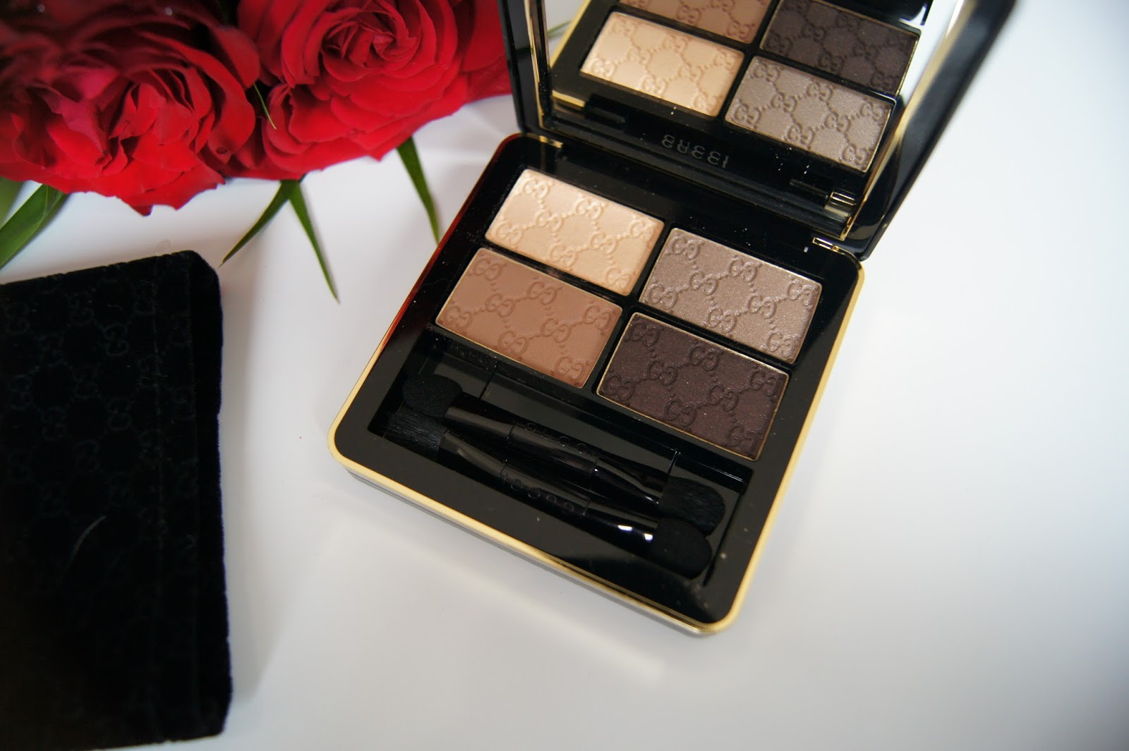 Gucci Magnetic Color Shadow Quad in Tuscan Storm review