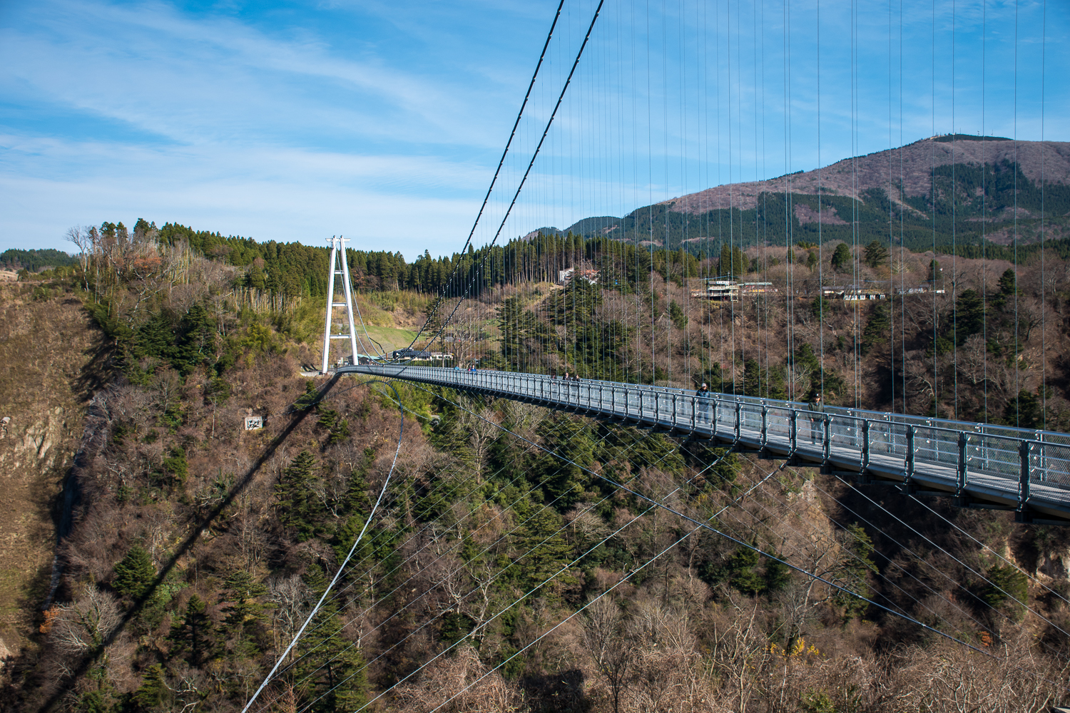 suspension bridge architecture in japan