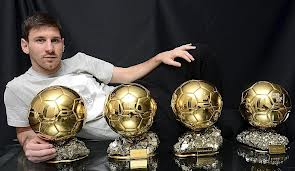 Koleksi Piala pengargaan Messi