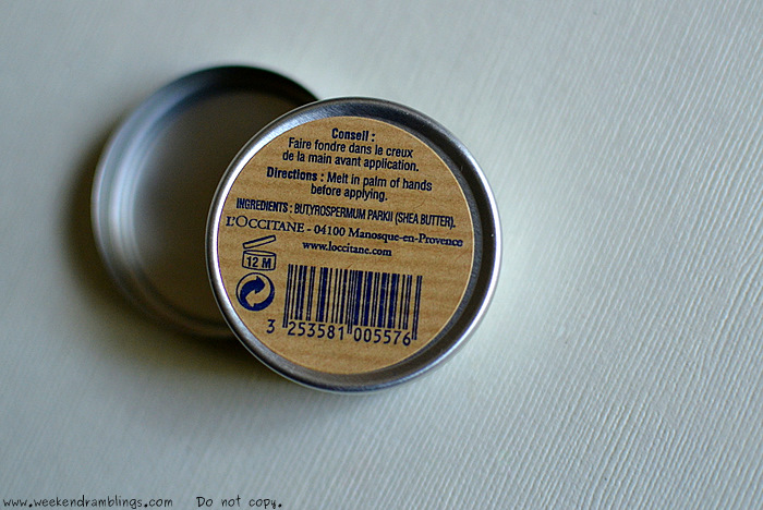 Butyrospermum parkii how to use loccitane pure shea butter organic natural makeup beauty skincare reviews ingredients benefits healthy dry moisturizer ingredients blog indian
