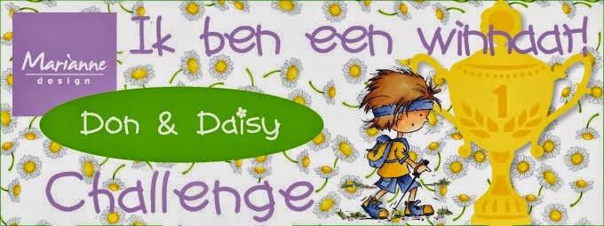 Challenge gewonnen bij Don en Daisy