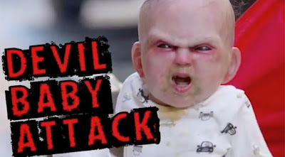 Devil baby terrifies New Yorkers in an epic viral video prank