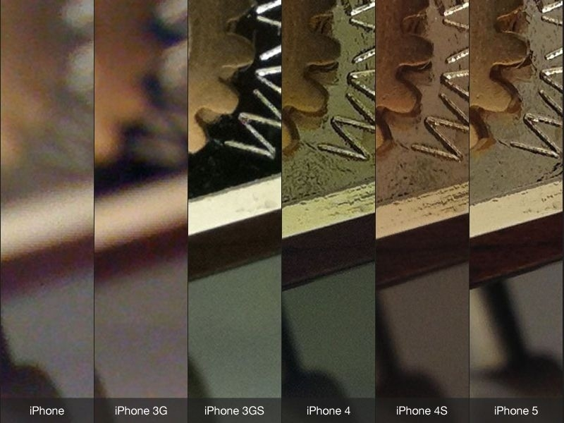 Camera quality iPhone 5 Vs iPhone 4S Vs 4 test comparison ...