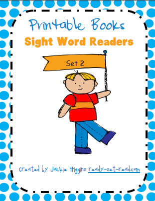 photograph relating to Sight Word Book Printable identified as Prepared-Preset-Go through: Printable Guides for Emergent People