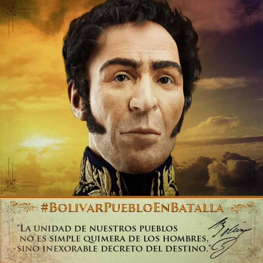 #BolivarPuebloEnBatalla