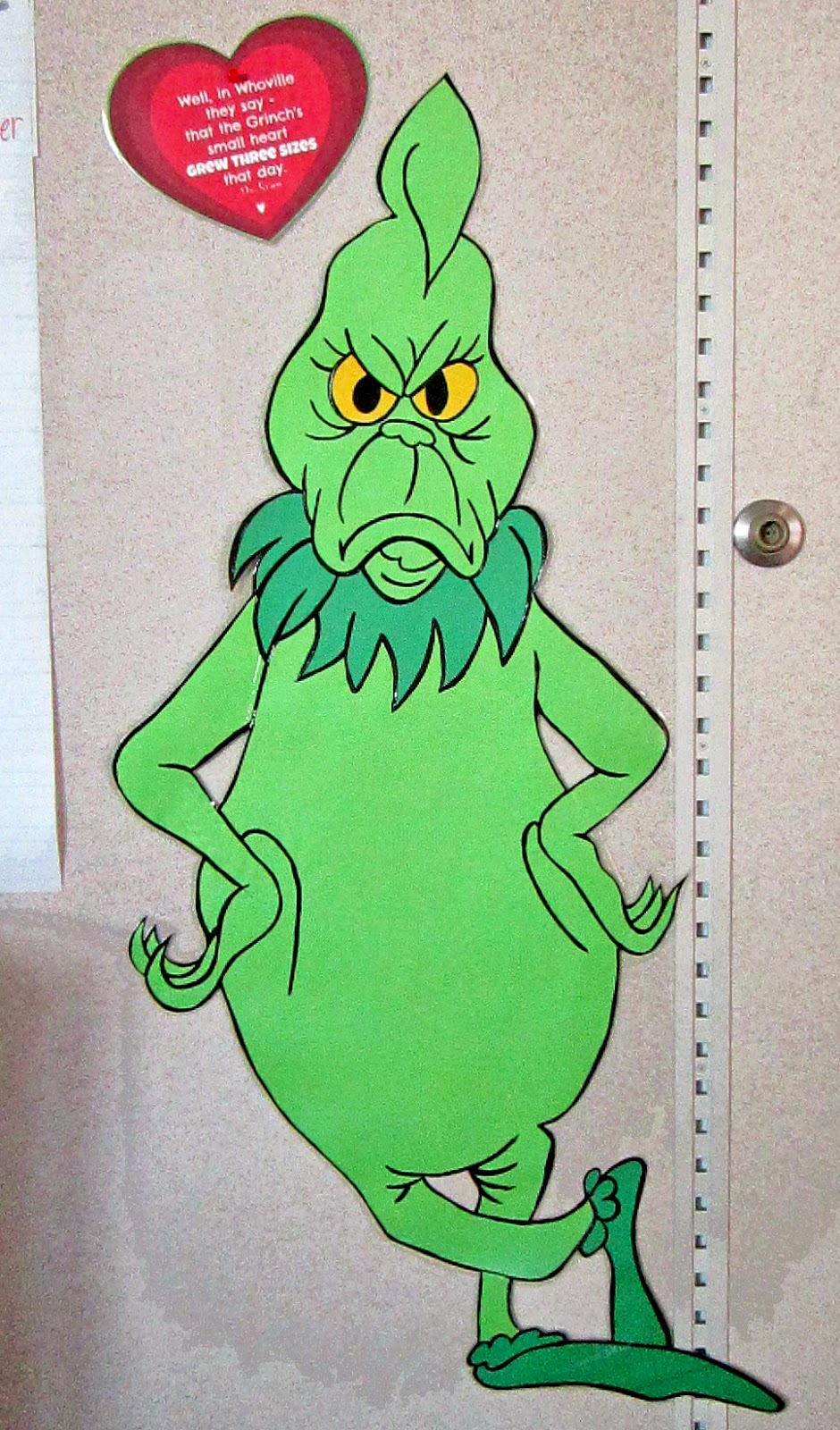 It is a graphic of Canny The Grinch Printable
