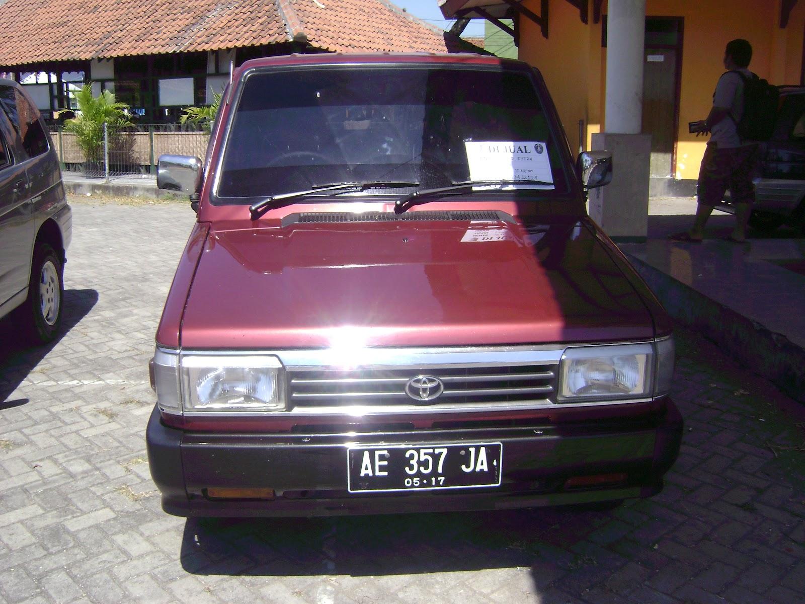 toyota kijang grand extra merah 1995 ~ bursa mobil warog