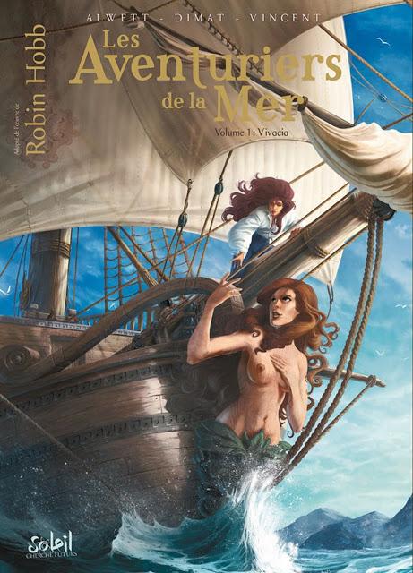 Les Aventuriers de la mer 01 - 03 Audrey Alwett & Dimat