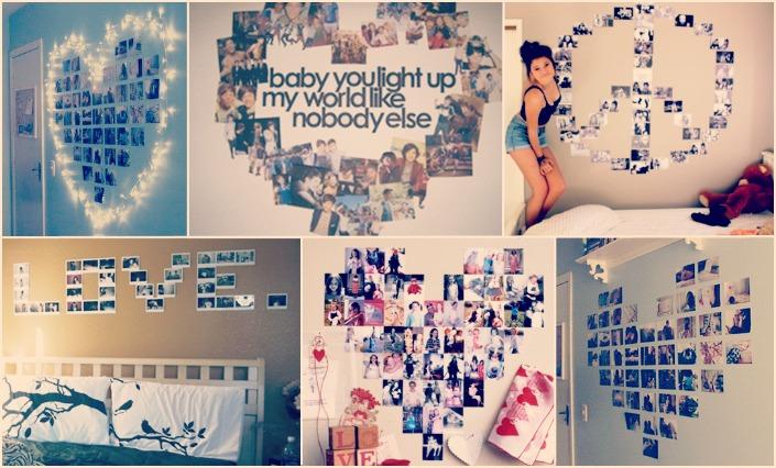 Cora o feminista dica de como decorar seu quarto for Revelar fotos baratas