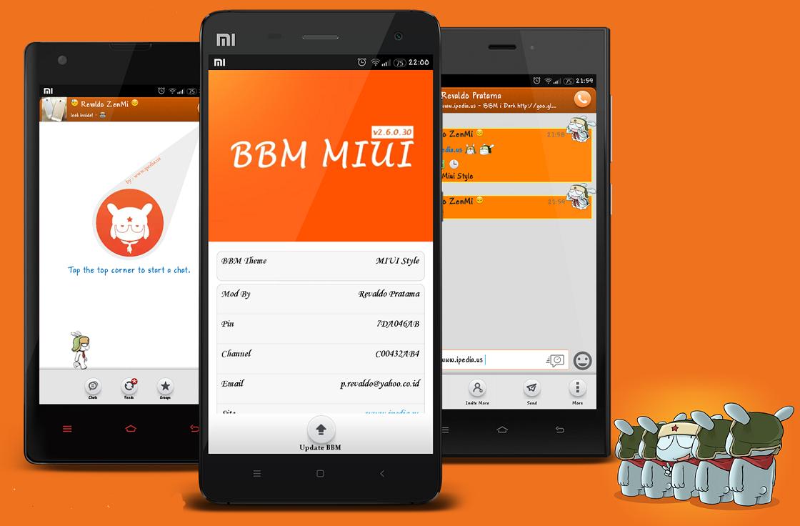Kumpulan BBM Mod versi 2.8.0.21 Apk Terbaru - Trends7Media
