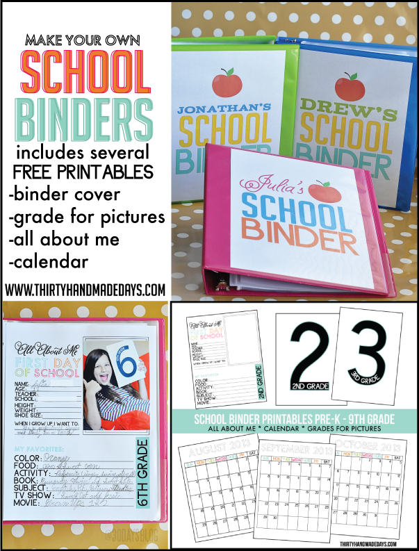 Exceptional image pertaining to college binder organization printables