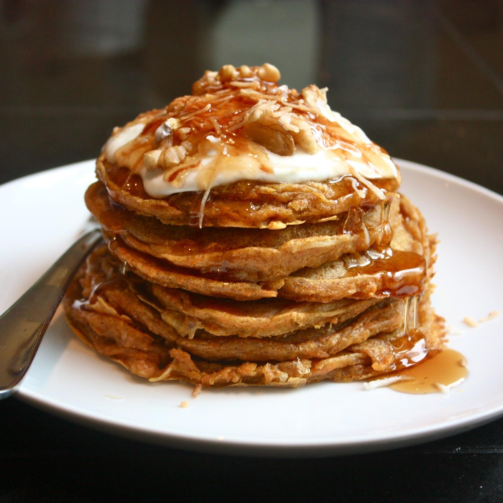 Cannella Vita: carrot cake pancakes