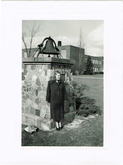 Jackie Davis teacher in Columbus Ohio circa 1950s