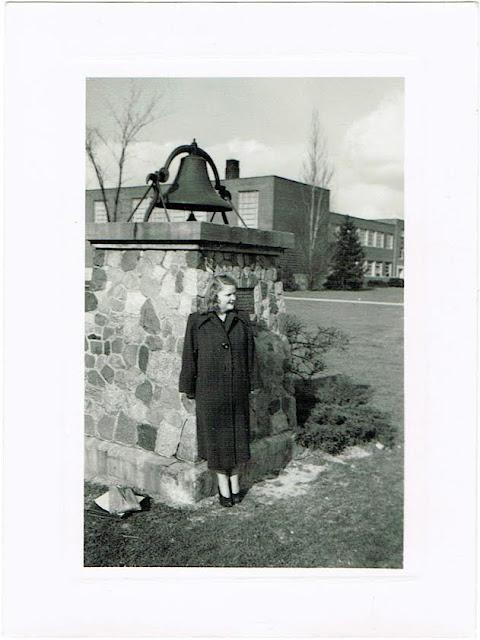 Jackie Davis teacher in Columbus Ohio circa 1950s