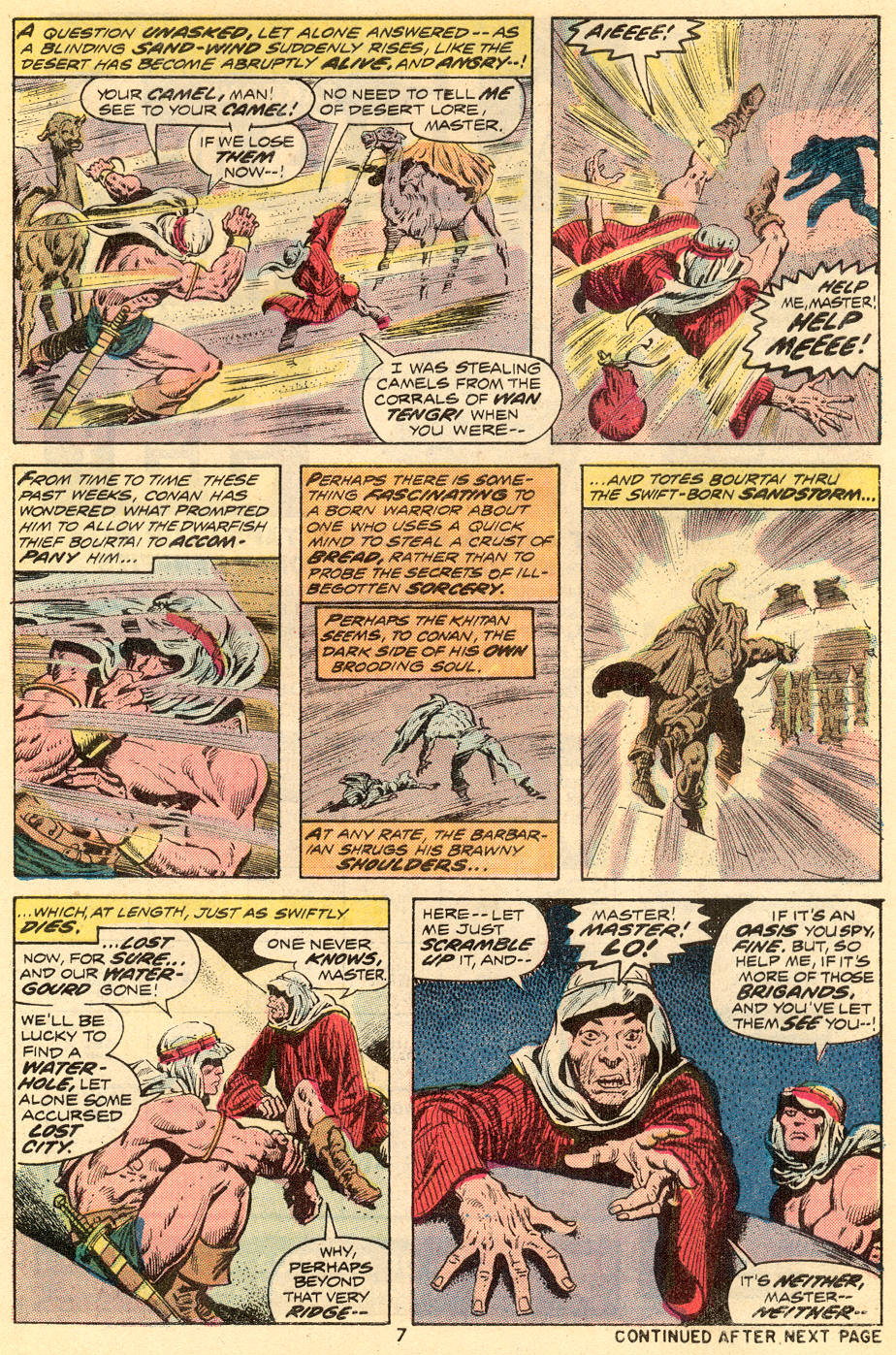 Conan the Barbarian (1970) Issue #35 #47 - English 6