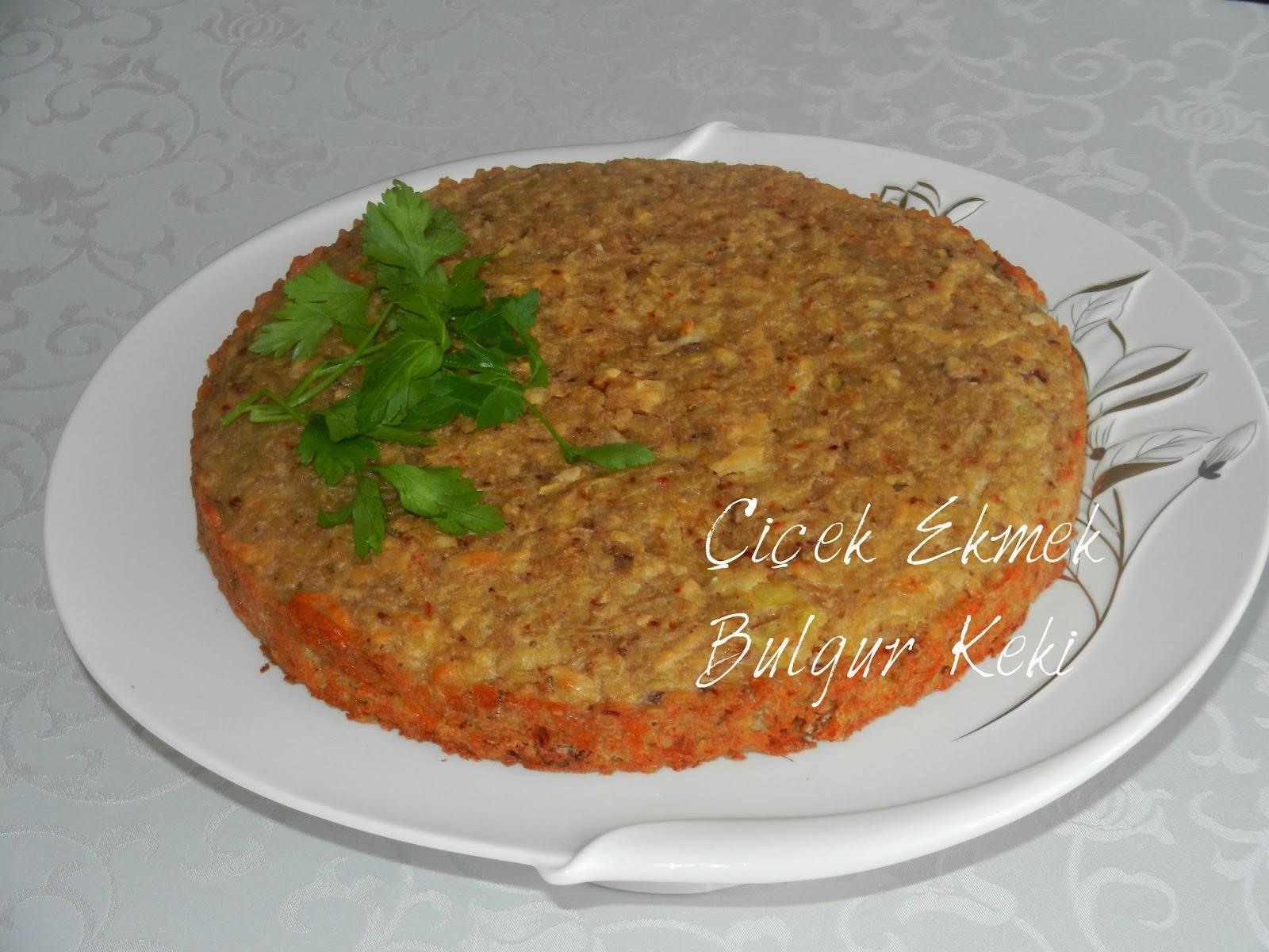 Bulgur keki Tarifi