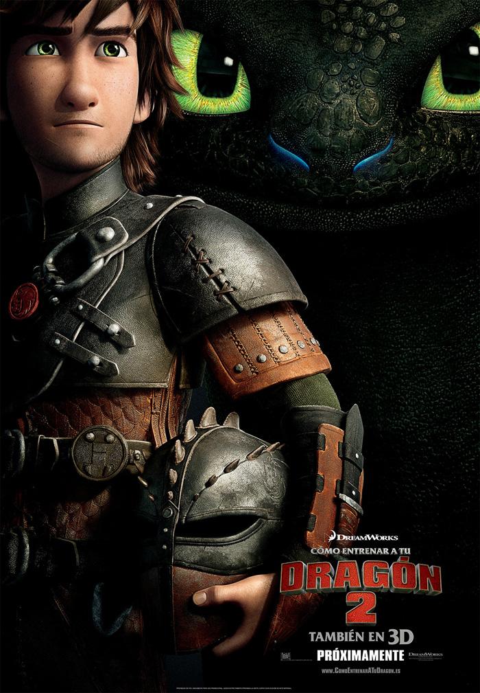 Cartel oficial de Cómo entrenar a tu dragón 2