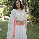 Nitya meenon Latest Photo Gallery in Salwar Kameez at New Movie Opening 28
