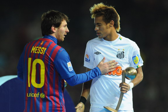 Johan Cruyff still sees Lionel Messi and Neymar together as being risky