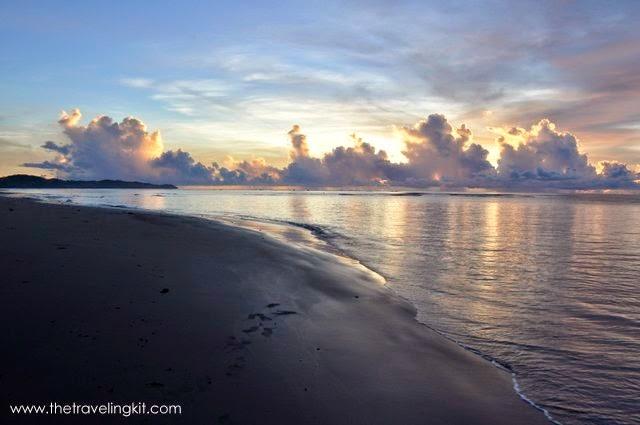 Sunrise in Mahiratag, Surigao del Sur