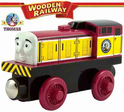 Toy wooden railway Thomas and friends Dart the diesel locomotive DH Bagnall train Sodor Dieselworks