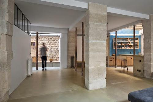 Loft in Paris by Maxime Jansens