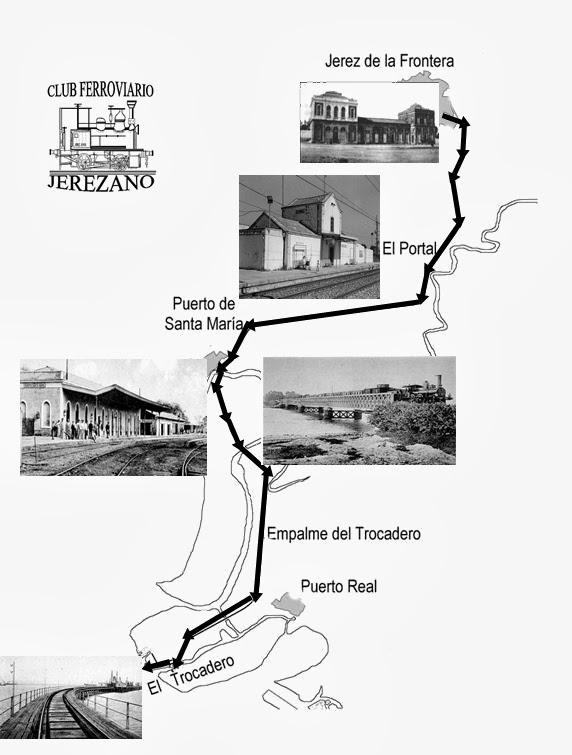 Club ferroviario jerezano historia de un tren - Estacion de tren puerto de santa maria ...