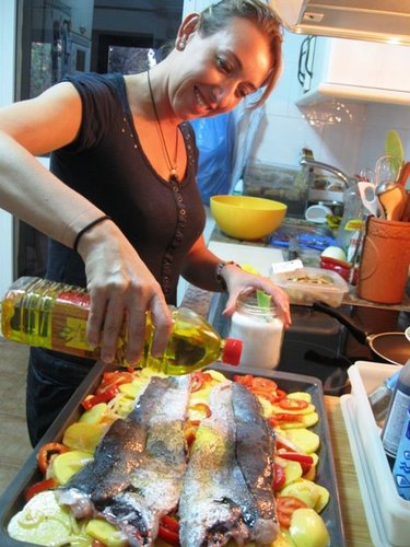 merluza al horno